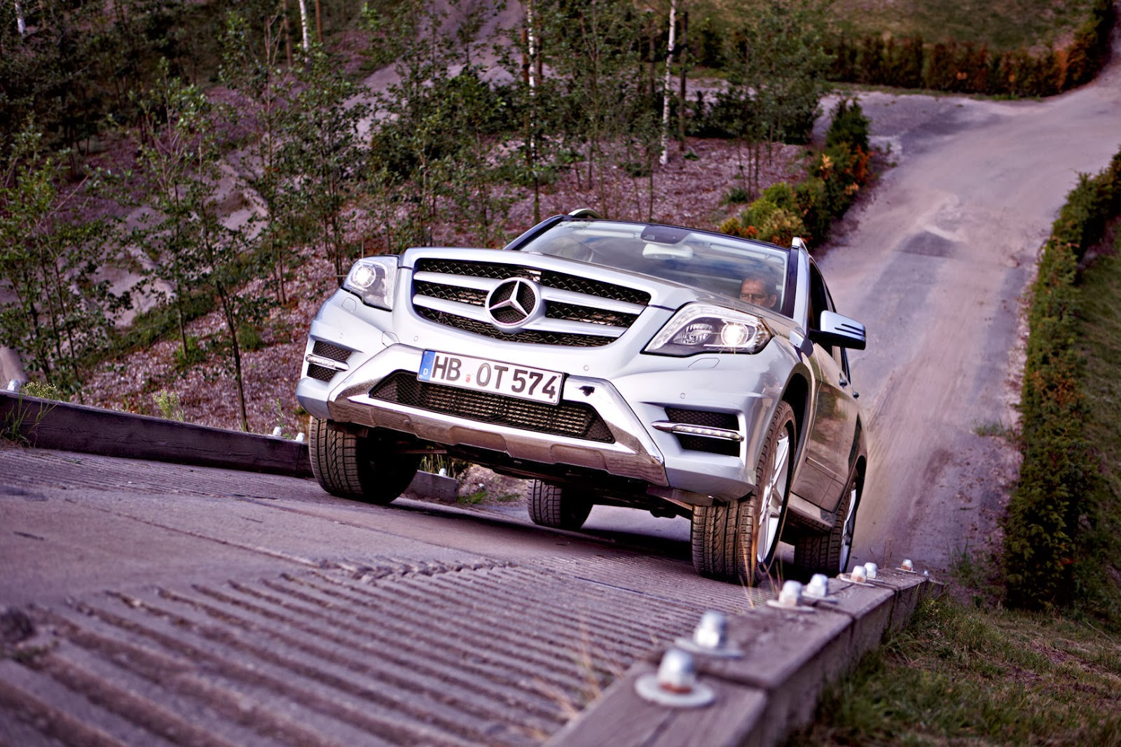 Mercedes benz werk bremen glk parcours the rock feiert for Mercedes benz of little rock